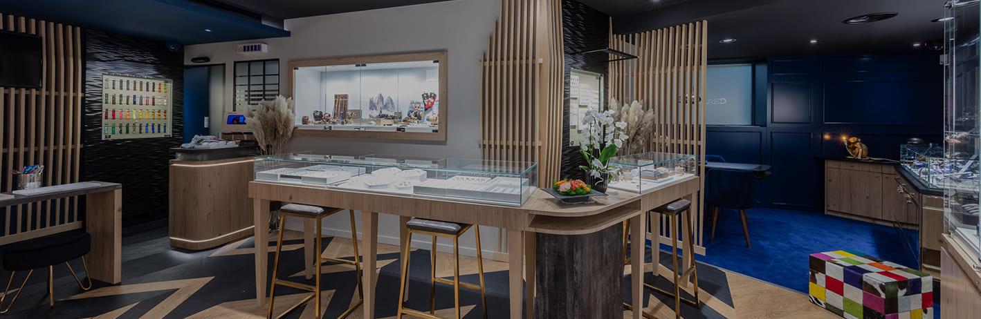 Bijouterie Fred-Henrard et BLR Création, l'alliance d'une rénovation réussie